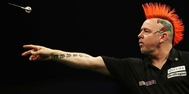 Loading Peter Wright. Photo / Getty