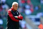 Wales coach Warren Gatland. Photo / Getty Images