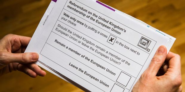Tthe upcoming EU referendum is scheduled for June 23rd. Photo / Getty