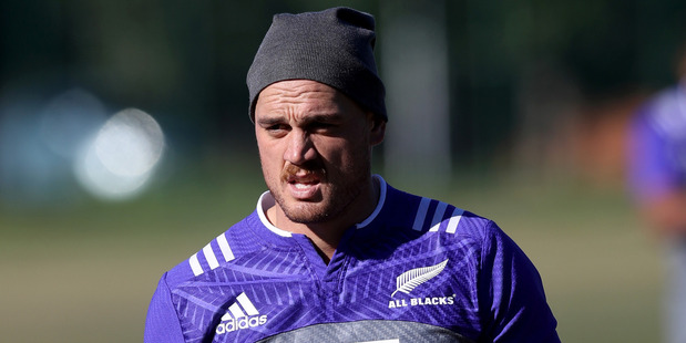 Israel Dagg takes part in an All Black training session during the week. Photo / Getty Images