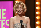Meg Ryan presented an award at the 70th Annual Tony Awards. Photo / Getty Images