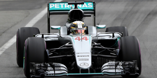 Lewis Hamilton driving the Mercedes during the Canadian Formula One Grand Prix. Photo / Getty Images