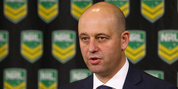 NRL CEO Todd Greenberg. Photo / Getty Images