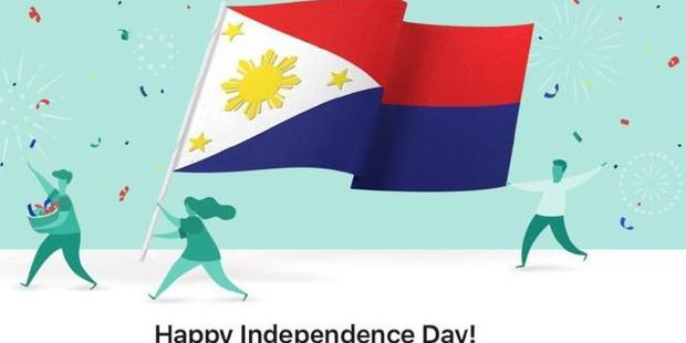Facebook posted a picture of the inverted Philippine flag, which means the country is at war.