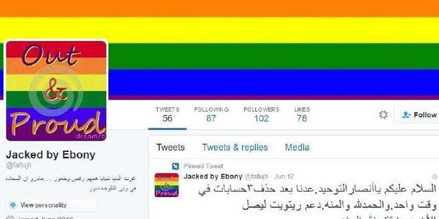 The hacker, @WauchulaGhost, broke into hundreds of IS supporters' Twitter accounts and posted rainbow flags and pro-gay content from them.