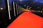The 'sunrise' on Auckland's Te Ara I Whiti cycleway. Photo / Supplied