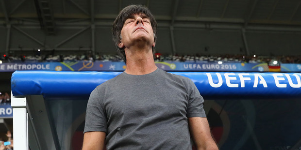Loading Joachim Loew, head coach of Germany looks on prior to the UEFA EURO 2016 Group C match between Germany and Ukraine. Photo / Getty Images.