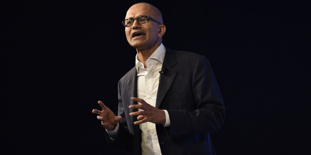 Buying LinkedIn is the biggest deal done since chief executive Satya Nadella took over in 2014. Photo / Getty
