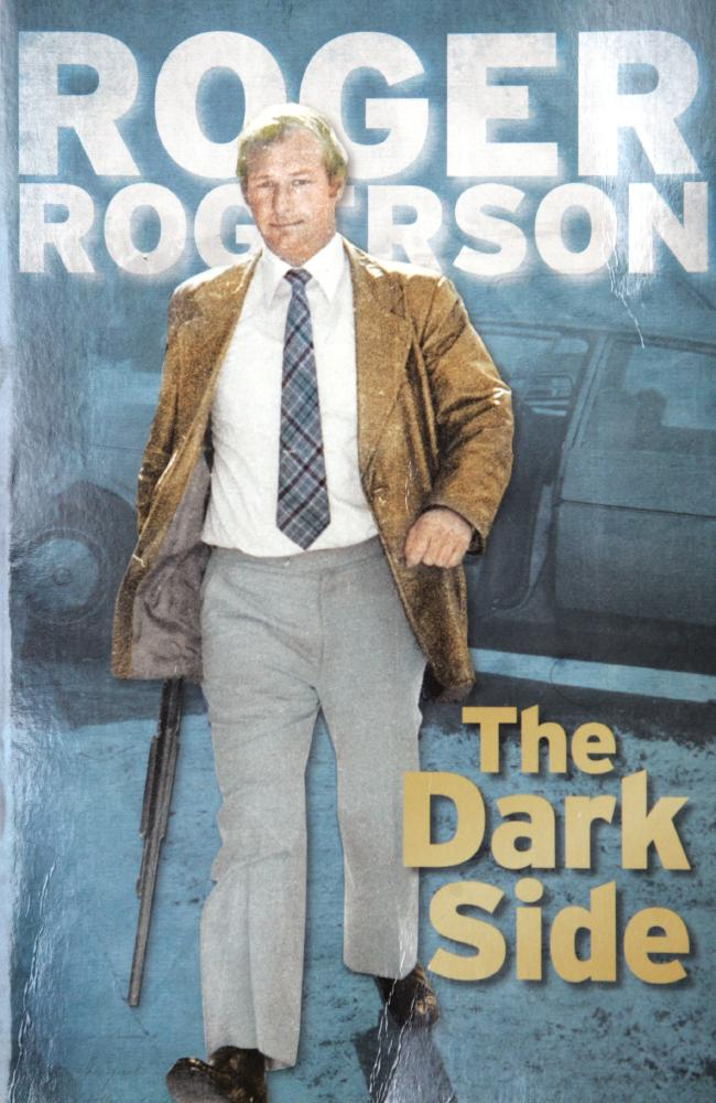 Rogerson published his autobiography in 2009. Alan Jones performed the honours at the launch. Photo / News Limited
