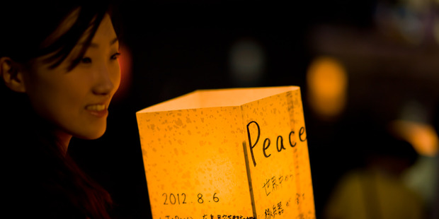 A peace festival in Hiroshima. Photo / Freedom II Andres