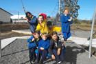 National Park School students Cooper Bird (bottom left), Emerson Lark, Catherine Parry, Shykauda Church (top left), Emy Little, Blake Hooper and Hannah Swift.    WGP 13Jun16 - KIDS