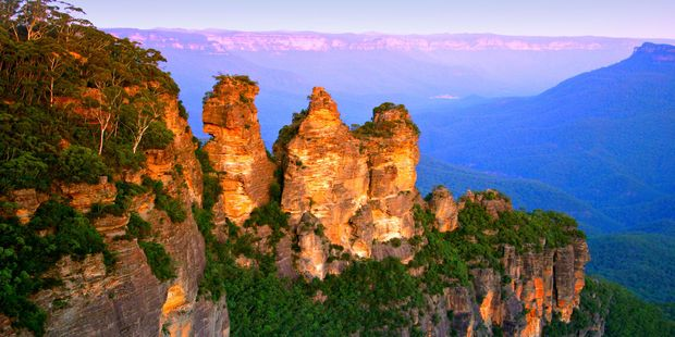 The Blue Mountains National Park in New South Wales, Australia. Photo / 123RF