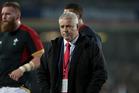 Wales rugby coach Warren Gatland. Photo / Brett  Phibbs
