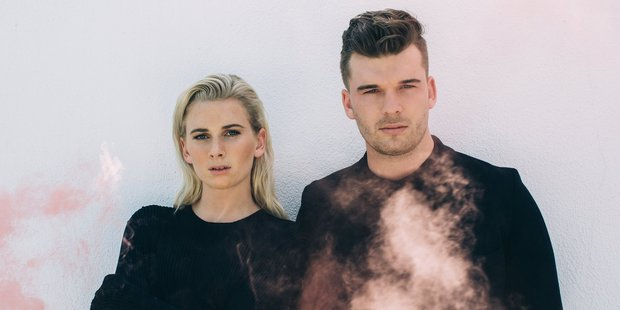 Georgia and Caleb Nott are the brother and sister behind Broods. Photo / Catie Laffoon