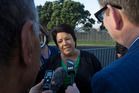 Cabinet minister Paula Bennett met with the chairman of Te Puea Marae, Hurimoana Dennis, on Friday. Photo / Brett Phibbs