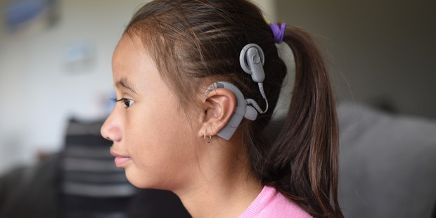 Loading Jurnee McCaskill has a hearing implant and her family is raising funds for a second one. Photo / George Novak