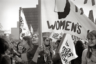 LIBERATION: A scene from the US women's movement documentary She's Beautiful When She's Angry
