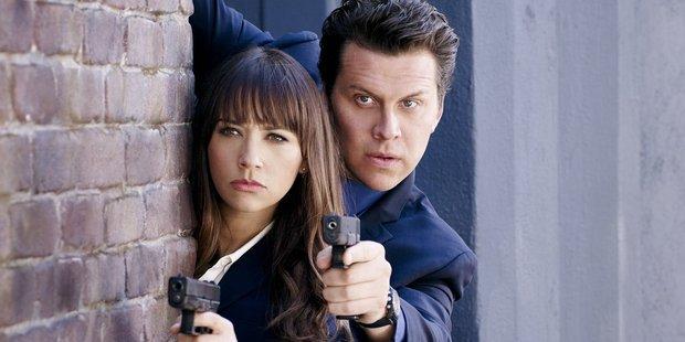Rashida Jones as Detective Tribeca and Hayes MacArthur as Jay Geils.