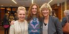 L-R Teenpreneurs Rose McMahon, Hope McConnell and Denise Arnold. Photo/George Novak