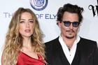 Actress Amber Heard and actor Johnny Depp. Photo / AP