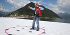 Bulgarian-born artist Christo Vladimirov Yavachev, known as Christo, on his installation 'The Floating Piers'. Photo / AP