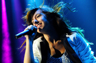 Christina Grimmie performing in concert. Photo / AP