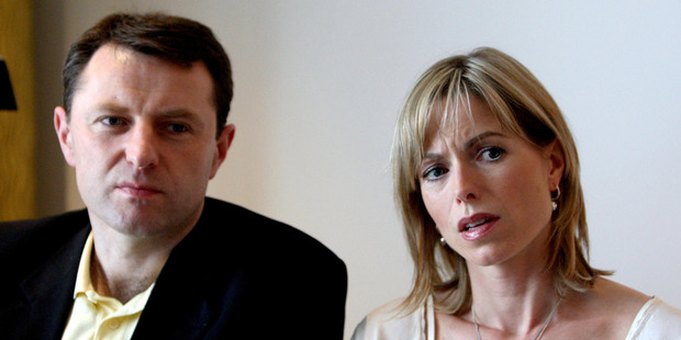 Loading Gerry and Kate McCann. Photo / AP
