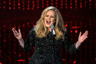 Adele's always been more than happy to prove her singing chops live. Photo / AP