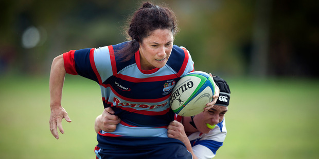 Victoria Grant is one of five new coaches named by Bay of Plenty Rugby.