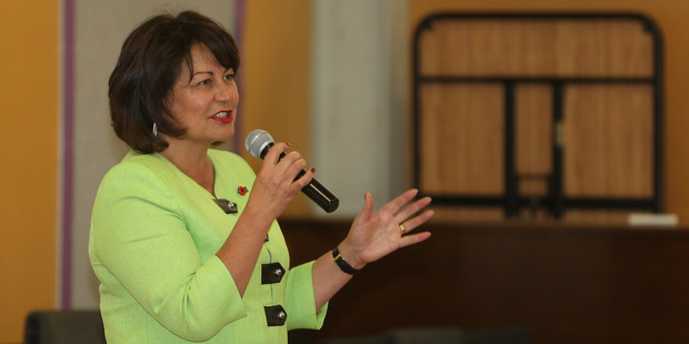 Hekia Parata has introduced a law change to keep the Teach First scheme on track. Photo / John Borren