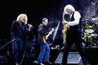 Robert Plant, John Paul Jones, Jimmy Page, Jason Bonham of Led Zeppelin. Photo / AP