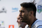 New Zealand Warriors Shaun Johnson has talked to the Herald about cyberbullying. Photo / Greg Bowker