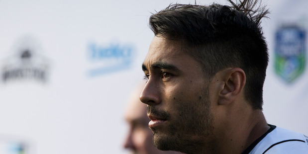 Loading New Zealand Warriors Shaun Johnson has talked to the Herald about cyberbullying. Photo / Greg Bowker