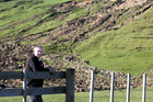 Kai Iwi farmer David Cotton has been keeping rainfall records for 25 years and he's getting a tad nervous as the anniversary of last June's flood looms.