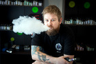 Ben Kitson, owner of E-Juice Bar, was a smoker for 10 years before he started importing e-cigarettes for himself and now the people of Tauranga. Photo/Andrew Warner