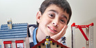 Sam Orsler, 10, won a national lego building competition and trip to Legoland Malaysia with this disastrous racetrack layout. Photo/Andrew Warner