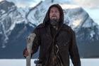 Leonardo Dicaprio as explorer Hugh Glass in the film The Revenant.