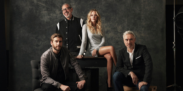 Loading Independence Day Resurgence for TimeOut. Supplied by 20th Century Fox. Starring Liam Hemsworth and Jeff Goldblum. NZH 16Jun16 -