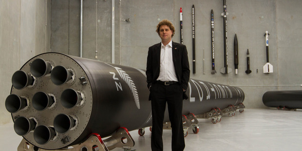 Peter Beck of NZ rocket company Rocket Lab. Photo / Geoff Dale