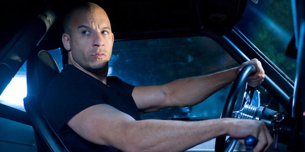 Vin Diesel stars in the Fast and Furious movie franchise.