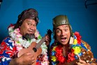 HAVING A LAUGH: The Laughing Samoans comedy duo, made up of Eteuati Ete and Tofiga Fepulea'i, are back this weekend with fresh laughs for the whole family. Photo/supplied