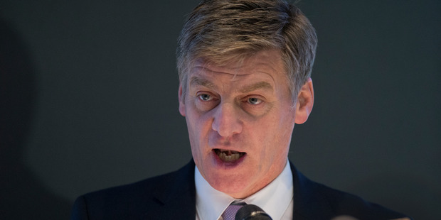 Finance Minister Bill English said the bill was unaffordable. Photo / Mark Mitchell