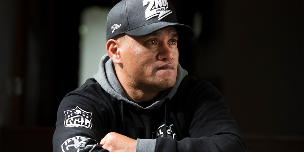 Teina Pora opening up to the New Zealand Herald in May 2015. Photo / Nick Reed