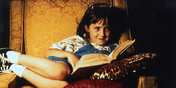 Mara Wilson, now 28, is pictured here in one of her more well-known roles as Matilda.