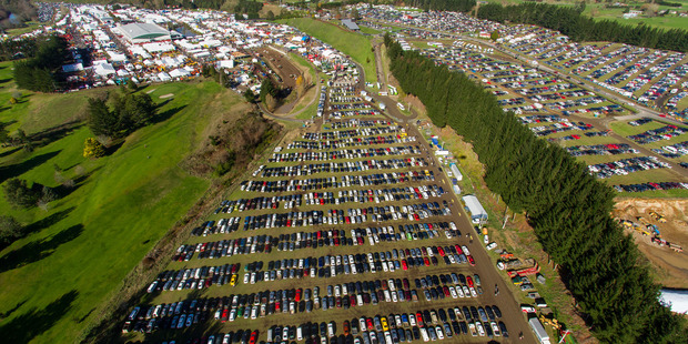 Fieldays opens today at Mystery Creek.