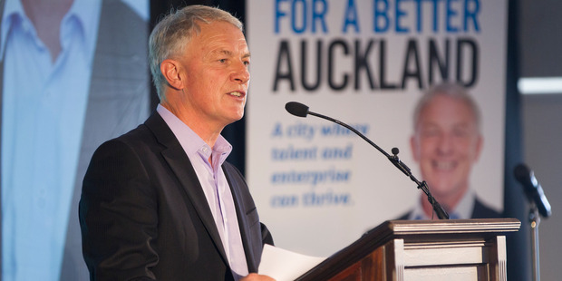 Phil Goff says the council's performance across the board is at rock bottom. Photo / Nick Reed