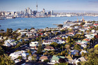 The upward march of Auckland values continues, and housing becomes more unaffordable. Photo / Doug Sherring