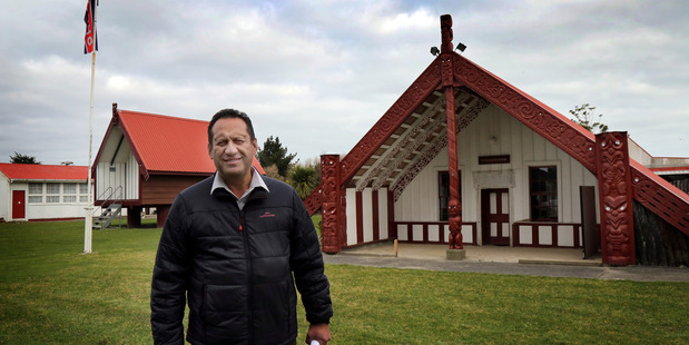 ROAD TO RECOVERY: Putiki Marae chairman Hone Tamehana is grateful for community support after last year's  flood.