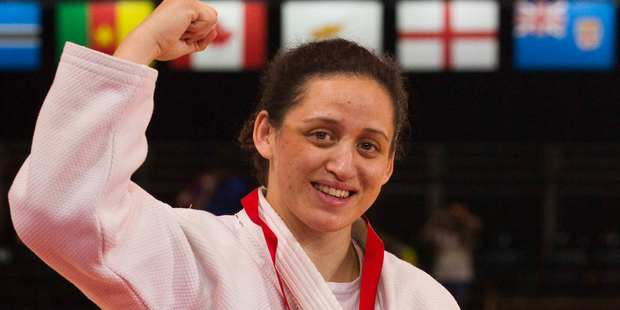 Kiwi Judo star Darcina Manuel. Photo / Greg Bowker.