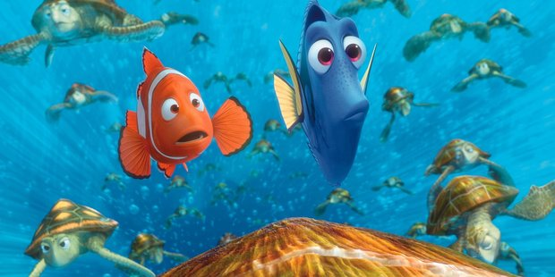 Nemo and Dory from the Pixar movie findinf Nemo. Photo / AAP